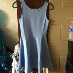 Cute Baby Blue Dress cute dress, only worn once to a wedding. says size 6 but fits size 2-4. PERFECT CONDITION! H&M Dresses