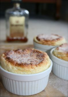 Disaronno Amaretto and Lime Soufflé - there's something oh so special about soufflés, and they're not as hard as you might think....