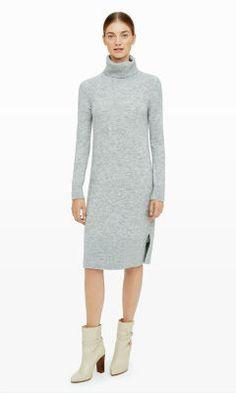 Araceli Sweater Dress - Club Monaco - not clingy - love it...darker color maybe?