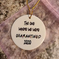 2020 Funny 6 Feet Christmas Quarantined 2020 Christmas | Etsy Secert Santa, Friends Tv Show Gifts, Squash Recipe, Office Parties, Gift Quotes, Christmas Humor, Mother Day Gifts, Party Gifts, Stocking Stuffers