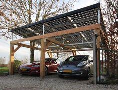 Mijn Energiefabriek (Project) - Carport met doorzichtige zonnepanelen - PhotoID #288112 - architectenweb.nl