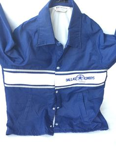 A personal favorite from my Etsy shop https://www.etsy.com/listing/252202058/dallas-cowboys-stadium-jacket-mens-size