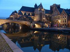 Sint-Michielsbrug en -kerk - Have a nice weekend! - In Explore op 05-01-2013 # 008