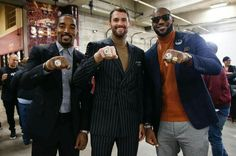 JR Smith, Kevin Love & LeBron James