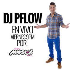 Viernes social desde las 9PM escúchame mezclando en @redmusikfm  Snapchat: DJPFLOW  Descarga toda mi música mezclada en www.djpflow.com  #DJPFLOW #DJ #DJLife #Radio #RadioLife #Latinurbano #RedMusikFM #ReloopDJ