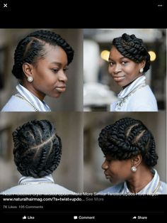 Love this protective style!