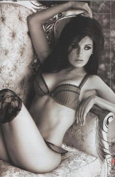 Mayrín Villanueva - Unknown Lingerie Photoshoot