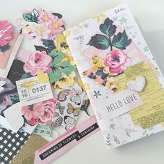 Catching up on mail! This bloom collection is amazing!!!!
