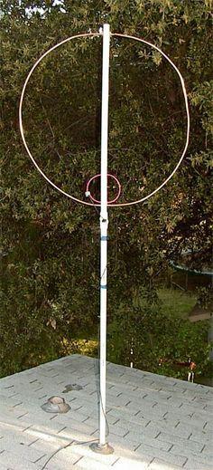 LongShot of Mag Loop Antenna