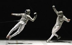 Tim Morehouse Sabre Fencing in Action!
