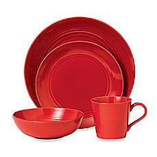 image of Gordon Ramsay by Royal Doulton® Maze Chili Dinnerware Set in Red