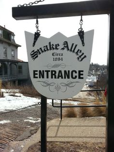 Snake Alley Burlington Iowa