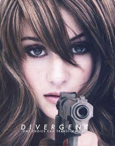 Divergent Movie Poster ~ Shailene Woodley as Tris Prior☠