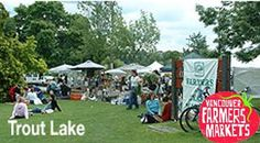 Trout Lake Farmers Market begins Sat, 10 May 2014 in #Vancouver at Trout Lake Farmers Market