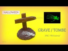 [Stop Motion] Halloween Grave Polymer Clay Tutorial / Tutoriel Tombe Halloween - YouTube