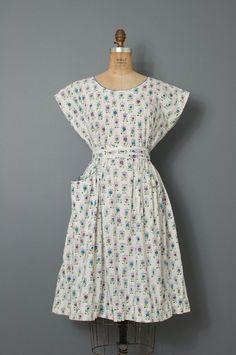 1950s swirl dress