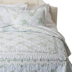 Simply Shabby Chic� Wallpaper Ikat Quilt - Blue
