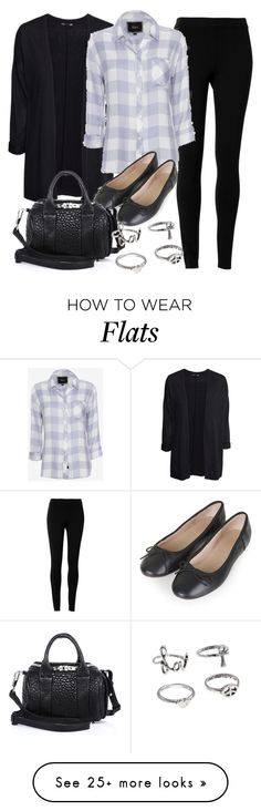"""""""Style #9366"""" by vany-alvarado on Polyvore featuring H&M, Max Studio, Rails, Topshop and Alexander Wang"""