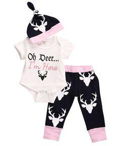 http://babyclothes.fashiongarments.biz/  2016 Autumn Newborn Baby Girls Little Clothes Sets Tops Romper + Long Pants Cute Animals Cotton Hat Outfits Set Clothes, http://babyclothes.fashiongarments.biz/products/2016-autumn-newborn-baby-girls-little-clothes-sets-tops-romper-long-pants-cute-animals-cotton-hat-outfits-set-clothes/,  ,    Label Size Tops Length Bust*2 Pants Length…