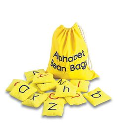 Love this Alphabet Beanbag Set on #zulily! #zulilyfinds