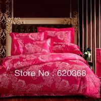 1.Includes:Duvet set: 1 duvet cover,1 bed sheet,2 pillowcase. 2.Size:King  size 3.Material:100% cotton 4.Packing: one set in a PVC bag with color insert