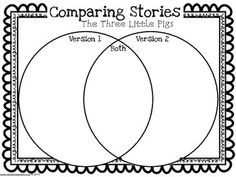 This is a fun activity to compare/contrast the Big Bad