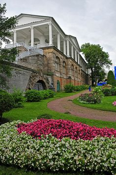 Catherine Palace Gardens - Tsarskoye Selo, Russia