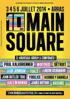 Main Square Festival : Woodkid, Détroit, Foals... 12 nouveaux artistes annoncés dans la programmation