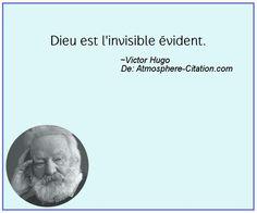 Dieu est l'invisible évident.  Trouvez encore plus de citations et de dictons sur: https://www.atmosphere-citation.com/populaires/dieu-est-linvisible-evident.html?