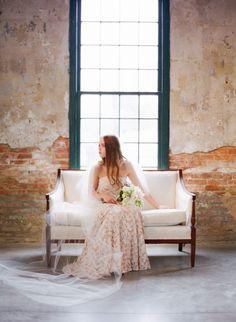 Photography: Marta Locklear - martalocklear.com  Read More: http://www.stylemepretty.com/2014/07/16/loft-style-wedding-inspiration/