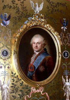 Portret króla Stanisława Augusta Poniatowskiego