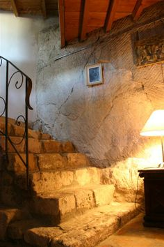 Great Stair Of Stones House In The Rocks. Les Baux De Provence Bu0026B ...