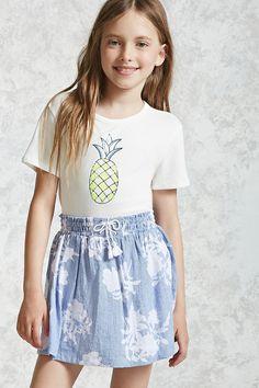 Girls Pinstripe Skirt (Kids)