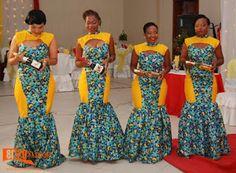 Looking awesome in African wear(ekitengi)