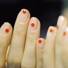 Could do something similar with braille patterns on nails