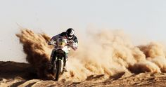 dakar rally motorcycle 4k ultra hd wallpaper