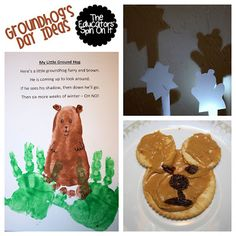 Tot School - Groundhog Day Ideas from The Educators' Spin On It