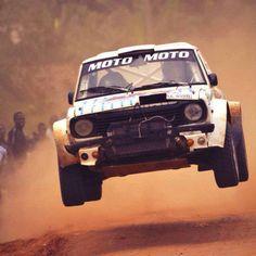 Ford Escort rally car #RallyCar