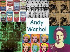 Leuke en informatieve powerpoint over Andy Warhol voor 5, deze en nog vele andere kun je downloaden op de website van Juf Milou.