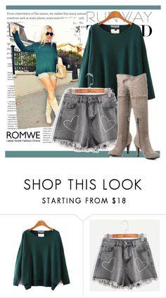 """""""Romwe 7"""" by danijela-3 ❤ liked on Polyvore featuring romwe"""