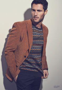 Men's business casual | Zack Van Der Merwe by Maimouna Barry