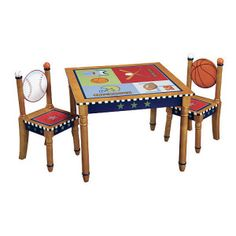 Superb All Star Sports Table 4 Stool Set From Levels Of Discovery   Kids Table And  Chair Set | For The Playroom | Pinterest | Stools, Toy Boxes And Playrooms