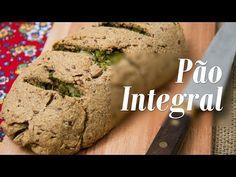 Pão Integral Recheado com Brócolis - Presunto Vegetariano