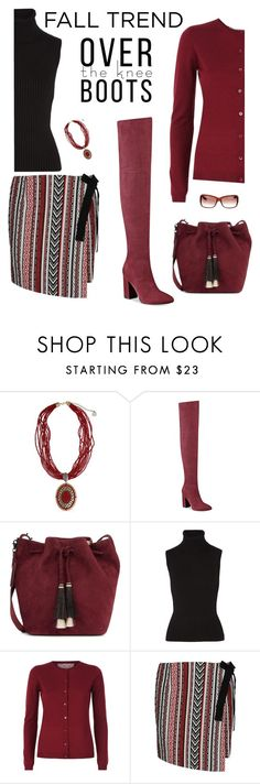 """""""draft boots"""" by rasc2016 ❤ liked on Polyvore featuring Erica Lyons, GUESS, Loeffler Randall, Michael Kors, RED Valentino, George J. Love, Christian Dior and polyvorefashion"""