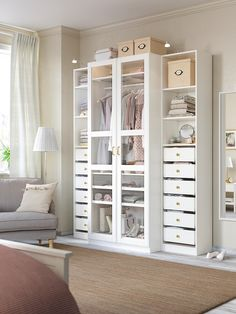 Painted Drawers, Painted Doors, Painted Closet, Dressing Pax, Ikea Dressing Room, Ikea Tyssedal, Pax Planner, Pax Wardrobe Planner, Garderobe Design