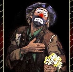 Emmett kelly jr clown is the worlds number one global design destination, championing the best in architecture, interiors, fashion, art and contemporary Le Clown, Clown Faces, Circus Clown, Clown Paintings, Watercolor Paintings, Emmett Kelly Clown, Laugh Now Cry Later, Pierrot Clown, Jack Vettriano