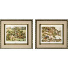 Phoenix Galleries Garden Plants Framed Prints - Garden Plants Series