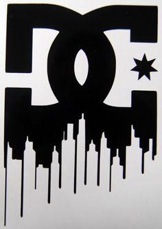 Home :: Urban / Logos :: DC Logo Fox Racing Logo, Skateboard Logo, Cartoon Drawing Tutorial, Sticker Design, Sleeve Tattoos, Vinyl Decals, Graffiti, Surfing, Logo Design