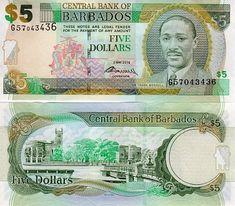 Barbados Banknote 2 Dollars 1998 Uncirculated