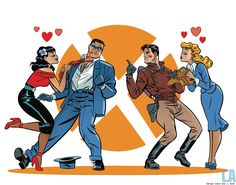 PULP FRICTION: The Spirit Vs. The Rocketeer By Darwyn Cooke & J. Bone [Art] - ComicsAlliance | Comic book culture, news, humor, commentary, and reviews